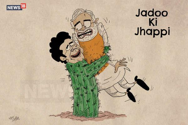 Opinion: गले मिलकर राहुल गांधी ने मोदी से टक्कर लेने का दिया संदेश