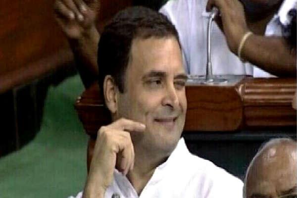 पता नहीं, क्या हुआ, किससे बात हुई और राहुल ने पीएम मोदी को गले लगा लिया