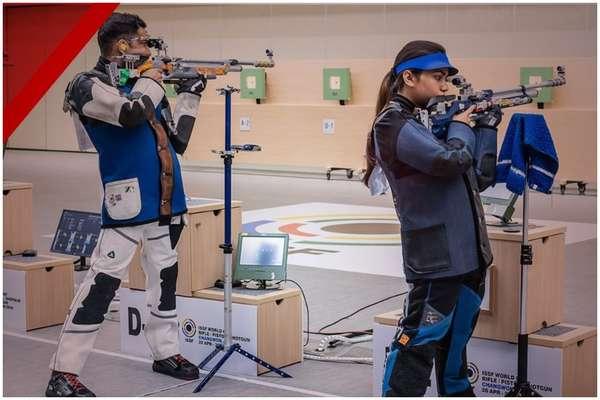 एशियन गेम्स 2018 में भारत ने खोला खाता, शूटर अपूर्वी चंदेला-रवि कुमार ने दिलाया ब्रॉन्ज