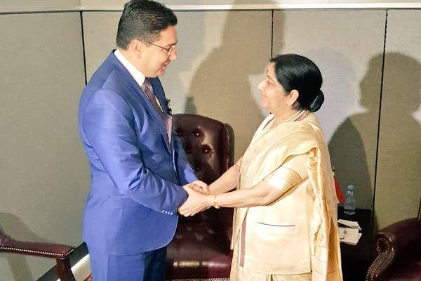कई देशों के विदेश मंत्रियों से मिलीं सुषमा स्वराज, इन मुद्दों पर हुई बातचीत