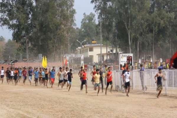 सेना की भर्ती में शख्स ने दूसरे की जगह लगाई दौड़, कार्रवाई से पहले ही फरार