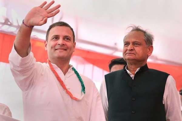 राजस्थान कांग्रेस की लिस्ट में देखिए, कहां से कौन है उम्मीदवार?